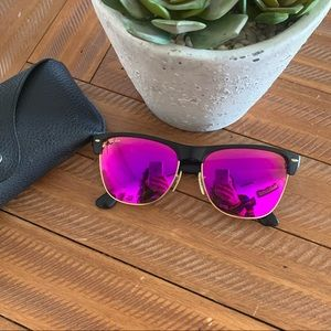Ray-Ban 4175 Oversized Clubmaster Sunglasses